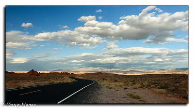 Leaving Valley of Fire State Park in Utah