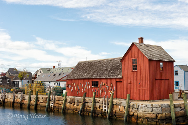 Rockport Motif No. 1 located in Rockport, Massachusetts.  May 20, 2015.
