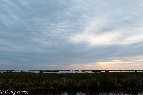 Sunrise  over Deep Marsh 3/04/2017