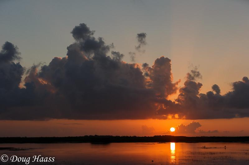 Sunrise over Olney Pond