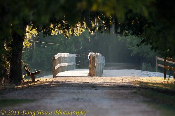 Spillway Bridge at morning