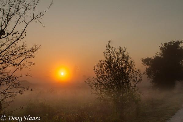 Sunrise over Pilant Lake Saturday July 6, 2013