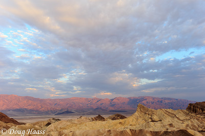 Manly Beacon at Zabriskie Point, Death Valley National Park, CA