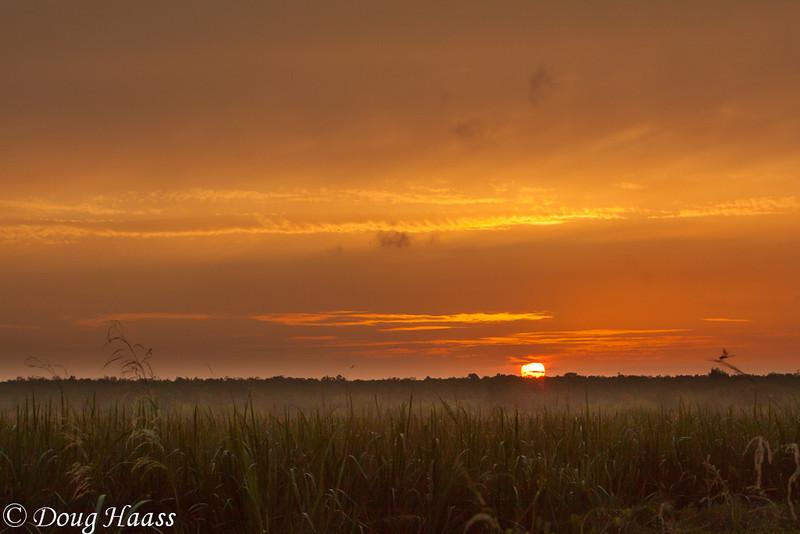 Sunrise overlooking Pilant Lake, taken  from 40 Acre Lake Trail