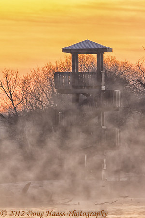 Observation Tower at sunrise