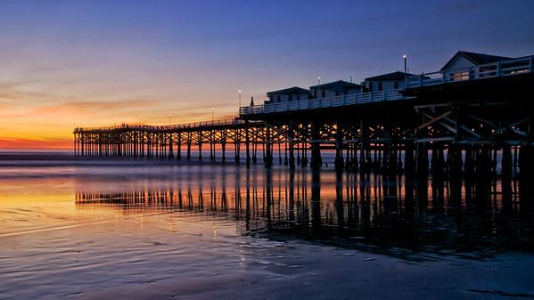 Crystal Pier--Pacific Beach, CA
