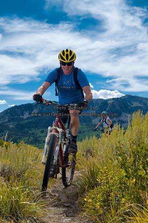 Mountain Biking, Park City, Utah