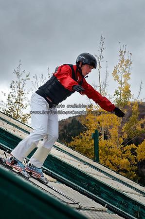 Emily Cook, Summer Training, Utah Olympic Park, Park City, Utah