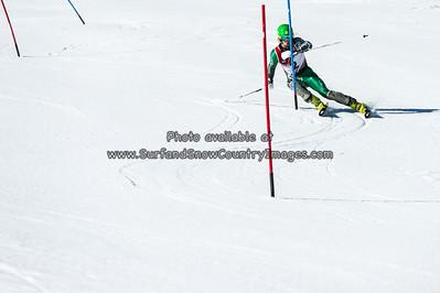 2014 NCAA Championships Skiing, Slalom, Park City, Utah