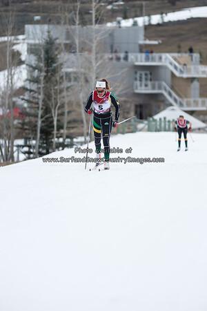 2014 NCAA Championships Skiing, 5 & 10 K XC, Park City, Utah