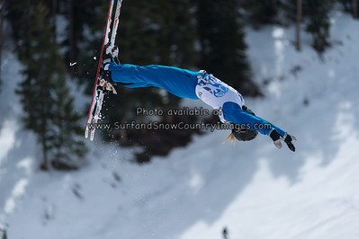 Madison Gorelik  at the 2014 US Freestyle Ski Championships, Deer Valley Resort, Park City UT  (3/28/2014)