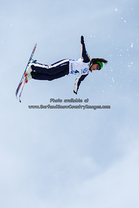 Si Ning Chan  at the 2014 US Freestyle Ski Championships, Deer Valley Resort, Park City UT  (3/28/2014)