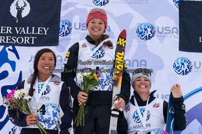 Ashley Caldwell  at the 2014 US Freestyle Ski Championships, Deer Valley Resort, Park City UT  (3/28/2014)