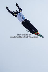 Zach Surdell  at the 2014 US Freestyle Ski Championships, Deer Valley Resort, Park City UT  (3/28/2014)