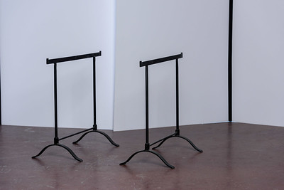 Cast iron Table stands ($35)