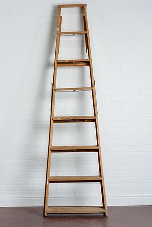 Wooden ladder ($25)