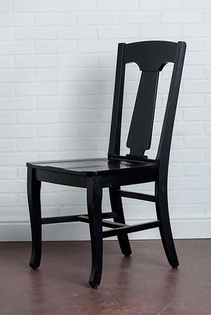 Black Chair.   $25ea.  2 avaialable