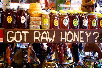 got raw honey?