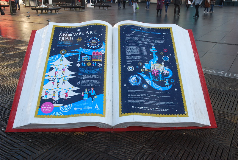 Giant Story Book Williamson Square