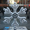 Snowflake Name: <br /> <br /> Eye Eye <br /> <br /> Designed by <br /> <br /> Holly Langley