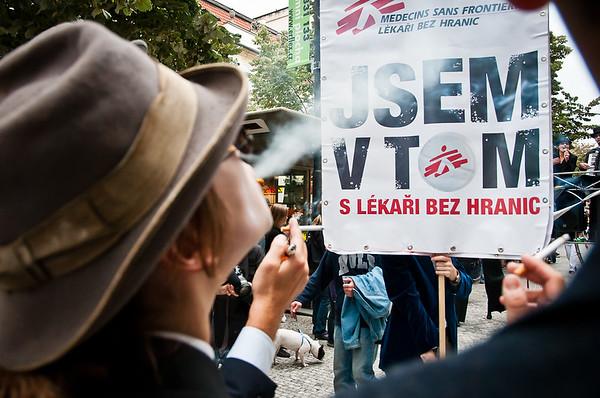 MSF in Prague 3