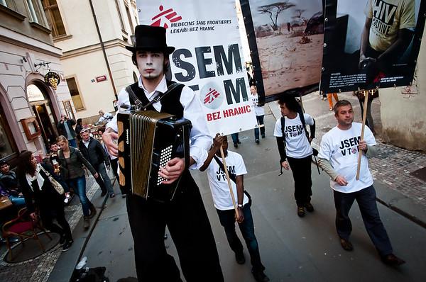 MSF in Prague 1