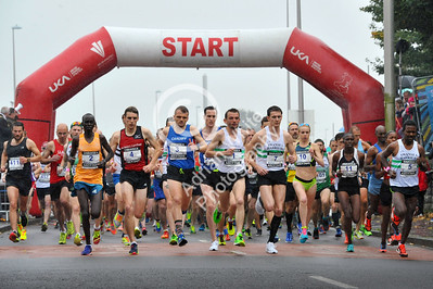 Admiral Swansea Bay 10k Race... Start of the 10k. BYLINE www.adrianwhitephotography.co.uk