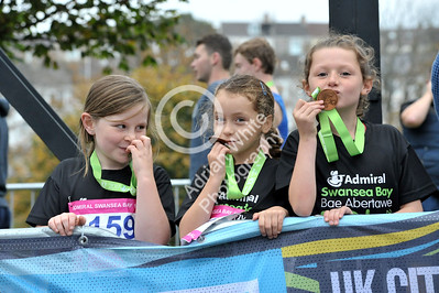 Admiral Swansea Bay 10k Race... 1k race celebrations BYLINE www.adrianwhitephotography.co.uk
