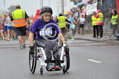Admiral Swansea Bay 10k Race... Action from 10k wheelchair race BYLINE www.adrianwhitephotography.co.uk