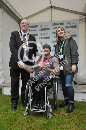 Admiral Swansea Bay 10k Race... winner 10k wheelchair BYLINE www.adrianwhitephotography.co.uk