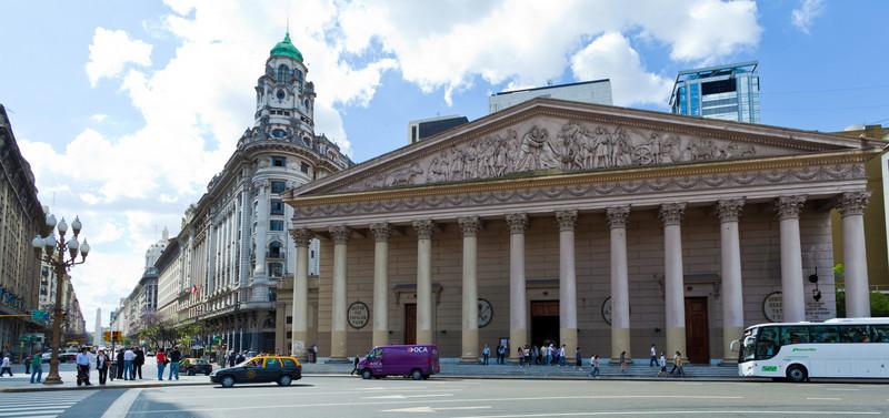 Legislative Palace and La Catedral Metropolitana, Buenos Aires