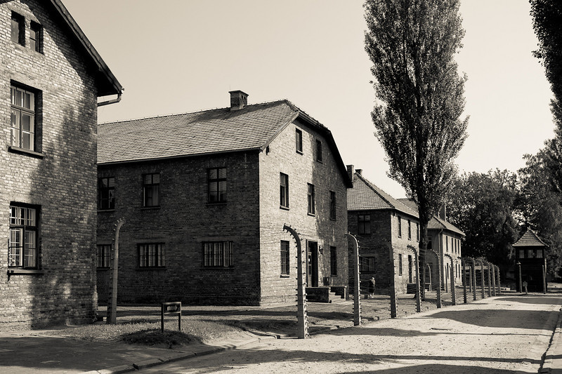 Auschwitz 1 barracks