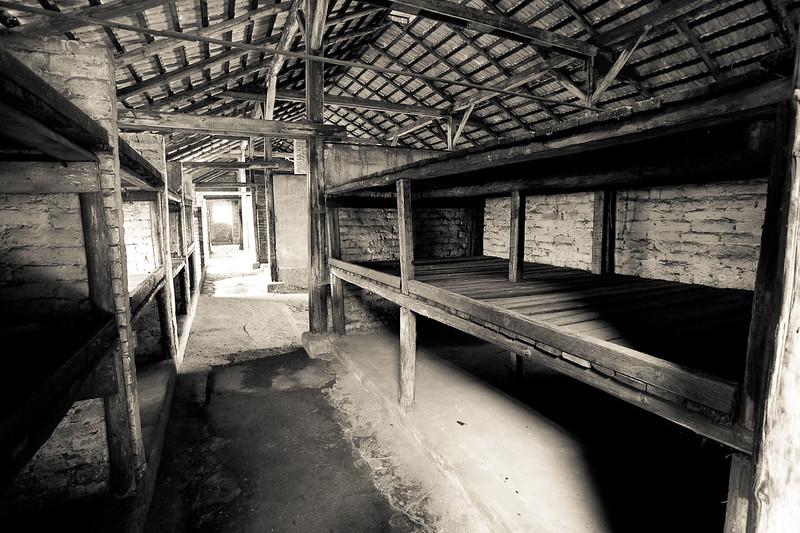 Auschwitz II-Birkenau barracks