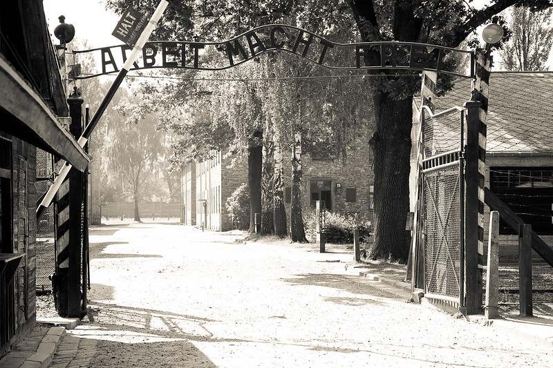 Gate to Auschwitz 1