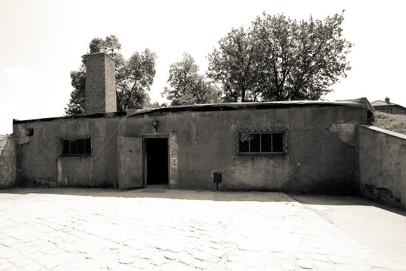 Auschwitz 1 gas chamber and crematorium