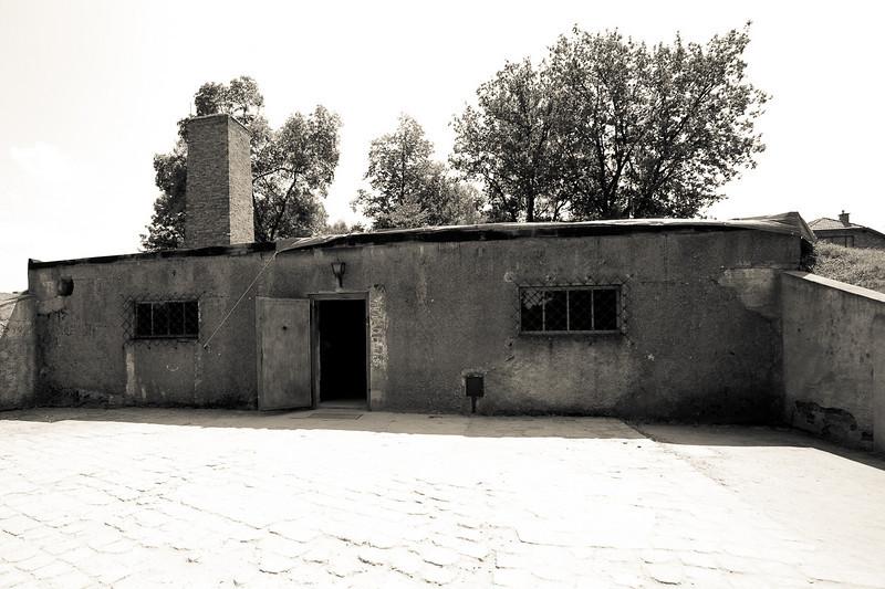 Auschwitz 1 gas chamber and crematorium