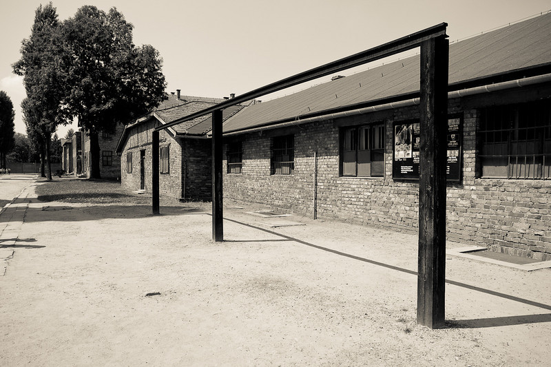 Auschwitz 1 gallows