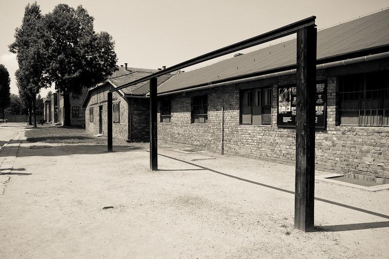 Auschwitz 1 gallows
