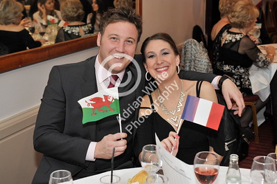 SWANSEA / Copyright Adrian White Thursday 17th November 2016 Beaujolais Day Dragon Hotel Lunch.. BYLINE www.click4prints.com