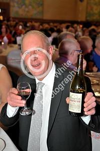 SWANSEA / Copyright Adrian White Thursday 17th November 2016 Beaujolais Day at the Brangwyn Hall... Lord Mayor of Swansea David Hopkins