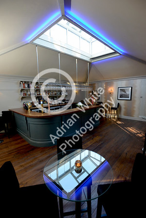 Sneek peek at new Orangery Restaurant extension at Fairy Hill, Gower  Bar Area  Copyright © 2018 by Adrian White Photography, all rights reserved. For permission to publish - contact me via www.adrianwhitephotography.co.uk Please respect copyright laws.