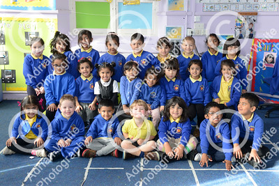 FIRST DAY AT SCHOOL 2018  St Helens Primary Reception Class    BYLINE - photos available at click4prints.com  Copyright © 2018 by Adrian White  Photography, all rights reserved. For permission to publish - contact me via www.adrianwhitephotography.co.uk Please respect copyright laws.