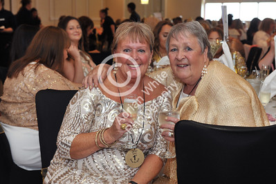 Jan Rees presents 'Going For Gold' charity fundraiser at the Marriot Hotel, Swansea.