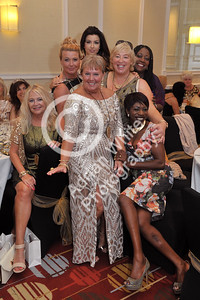 Jan Rees presents 'Going For Gold' charity fundraiser at the Marriot Hotel, Swansea. Jan Rees (centre)