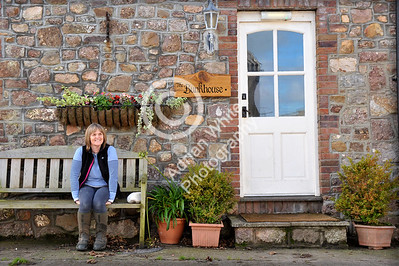 Gower Living...  Allison Tyrrell who is a farmer and runs a holiday home in Llangennech.