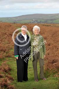 Gower Living...   Jill Burgess and Hilldagard Roberts on Cefn Bryn.