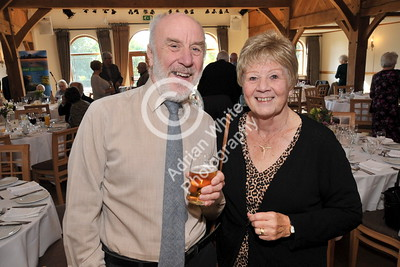 SWANSEA / Copyright Adrian White Sunday 23rd October 2016 Gower Society 60th Anniversary Lunch at the King Arthur Hotel, Reynoldston... Rod and Sue Cooper. BYLINE - www.click4prints.com