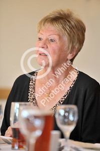 SWANSEA / Copyright Adrian White Sunday 23rd October 2016 Gower Society 60th Anniversary Lunch at the King Arthur Hotel, Reynoldston... Sue Cooper BYLINE - www.click4prints.com
