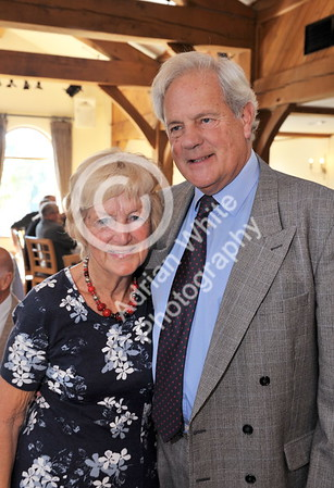SWANSEA / Copyright Adrian White Sunday 23rd October 2016 Gower Society 60th Anniversary Lunch at the King Arthur Hotel, Reynoldston... Sylvia and Peter McLewlan BYLINE - www.click4prints.com
