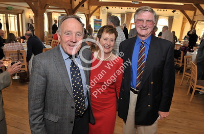 SWANSEA / Copyright Adrian White Sunday 23rd October 2016 Gower Society 60th Anniversary Lunch at the King Arthur Hotel, Reynoldston... Robin Kirby with Christine and David Carpenter BYLINE - www.click4prints.com